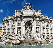 Trevi Fountain, Rome by Peter Mitchell