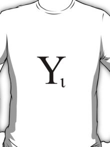 Iota Subscript T-Shirt