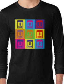 8 Track Pop Art T-Shirt Long Sleeve T-Shirt