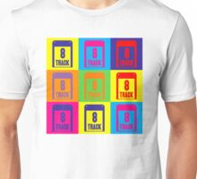 8 Track Pop Art T-Shirt Unisex T-Shirt