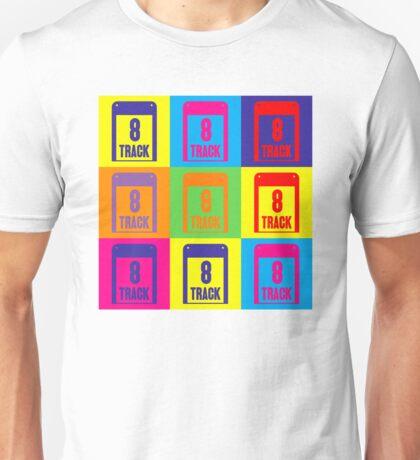8 Track Pop Art T-Shirt Unisex T-Shirt