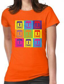 8 Track Pop Art T-Shirt Womens Fitted T-Shirt