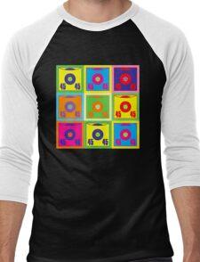 45 Record Pop Art Men's Baseball ¾ T-Shirt