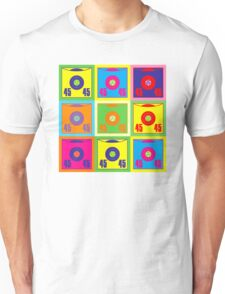 45 Record Pop Art Unisex T-Shirt