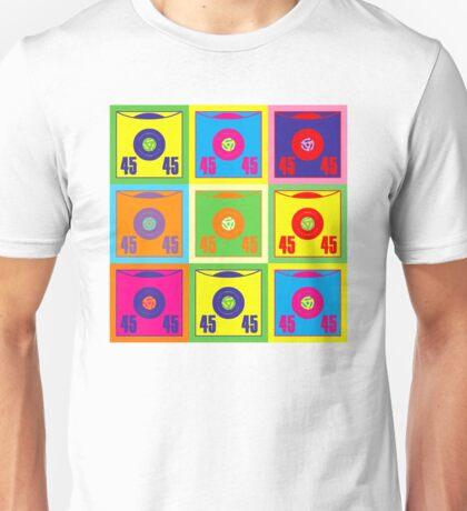 45 Record Pop Art Unisex T-Shirt