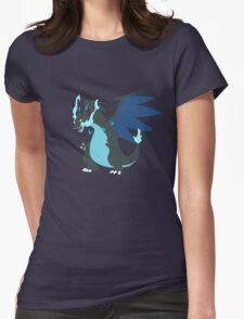 Mega-Charizard X Minimalist Womens Fitted T-Shirt