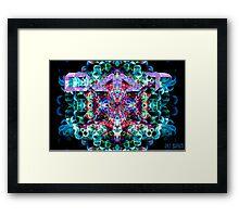 5-MeO-DMT Framed Print