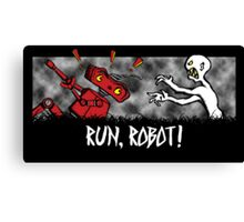 Run, Robot! Canvas Print