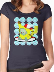 Choose me, Pika-mo!!  Women's Fitted Scoop T-Shirt
