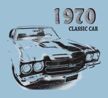 Chevrolet Chevelle SS 1970 Kids Tee