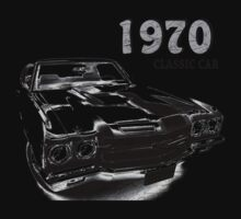 Chevrolet Chevelle SS 1970 One Piece - Short Sleeve