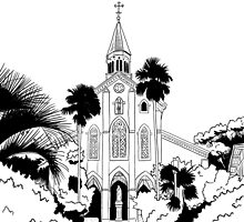 Nagasaki - Oura Church by parisiansamurai