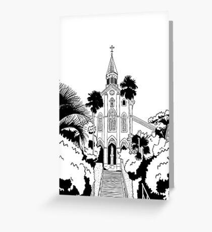 Nagasaki - Oura Church Greeting Card