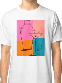 Pop Art Martini Classic T-Shirt