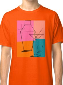 Pop Art Martini Classic T-Shirt