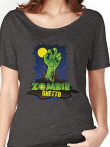 ZOMBIE GHETTO OFFICIAL LOGO DESIGN Women's Relaxed Fit T-Shirt