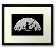 Full Moon Party Framed Print