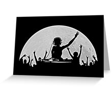 Full Moon Party Greeting Card