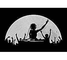 Full Moon Party Photographic Print