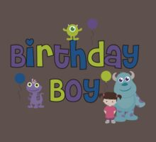 Monsters Inc birthday boy by sweetsisters