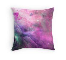 Orion Nebula [Pink Clouds] | Galaxy Mathematix Throw Pillow