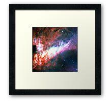 Omega Nebula | Galaxy Mathematix Framed Print