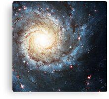 Messier 74 Nebula   Galaxy Mathematix Canvas Print
