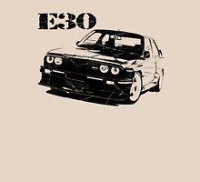 bmw e30, bmw e30 m3, classic car Unisex T-Shirt