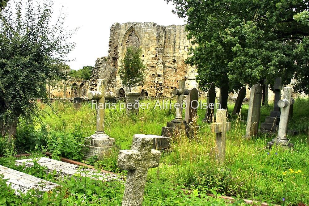 Abbey of St. Agatha by hans p olsen