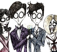 Tim Burton's Doctor Who by missdaytripper