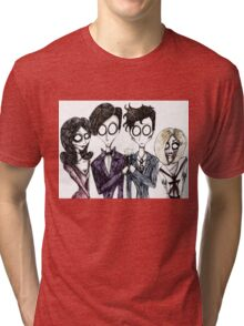 Tim Burton's Doctor Who Tri-blend T-Shirt