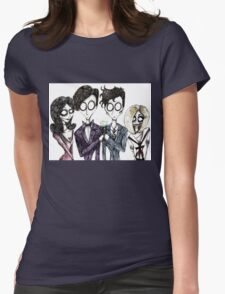 Tim Burton's Doctor Who Womens Fitted T-Shirt