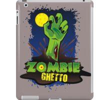 ZOMBIE GHETTO OFFICIAL LOGO DESIGN iPad Case/Skin
