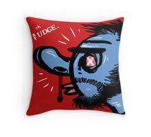 Oh Fudge. Throw Pillow