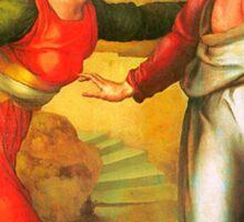 Bronzino  - Touch Me Not  Sticker