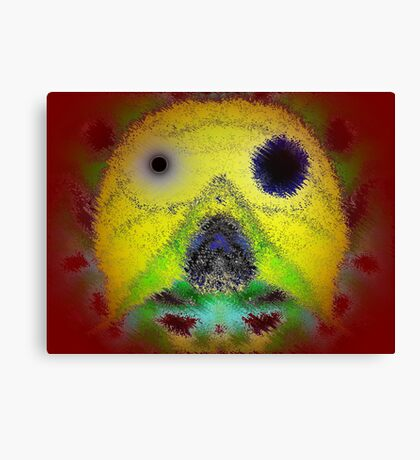 Weird Face Canvas Print