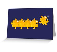 Puzzlefish Greeting Card