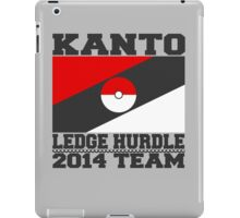 Kanto Ledge Hurdling Team iPad Case/Skin