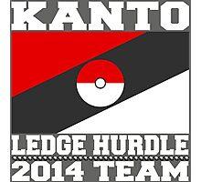Kanto Ledge Hurdling Team 2 Photographic Print