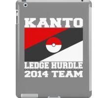 Kanto Ledge Hurdling Team 2 iPad Case/Skin