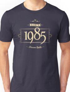Since 1985 (Cream&Choco) Unisex T-Shirt