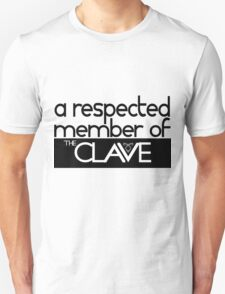"""a respected member of THE CLAVE"" - shadowhunters  T-Shirt"