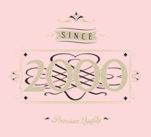 Since 2000 (Cream&Choco) Baby Tee
