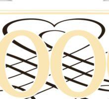 Since 2000 (Cream&Choco) Sticker