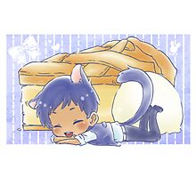 Cat Aomine and Apple Pie Photographic Print