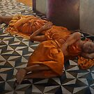 SLEEPING MONKS by William  Stanfield