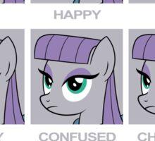 Expressions of Maud Tshirt Sticker