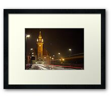 Just a minute Framed Print