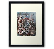 Abstract Expressionism 1 Framed Print