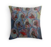 Abstract Expressionism 2 Throw Pillow